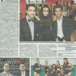 Article de Presse - Diamond School Cannes - Centre des arts de la scène - Ecole de danse - Chant - Théâtre - Comédie musicale