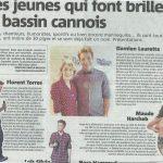 Florent Torres, Damien Lauretta, Maude Harcheb, Lois Silvon et Nora : Tous anciens étudiants de la Diamond School de Cannes