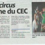 La Diamond Company présente son spectacle demain au CEC !