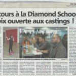 Michael Besigot en compagnie des anciens de la Star Academy et The Voice à la Diamond School de Cannes