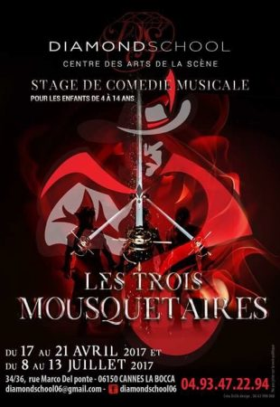 Diamond School Cannes - STAGE COMEDIE MUSICALE